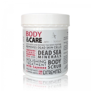 Mineral Body Scrub with Cayenne